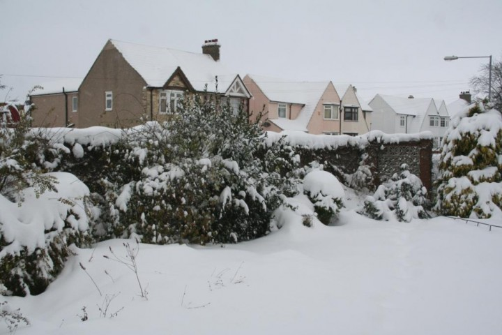 Snow in Grays 2 Dec 2010 Copyright: Peter Harvey