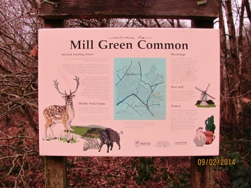 Mill Green Common Noticeboard 1 Copyright: Graham Smith