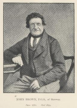 John Brown (1780-1859) Copyright: Essex Naturalist (1890) Vol. 4 Frontispiece