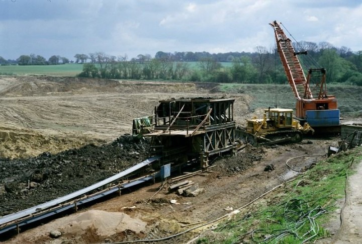 High Ongar Clay Pit in 1978 Copyright: British Geological Survey (P212179)