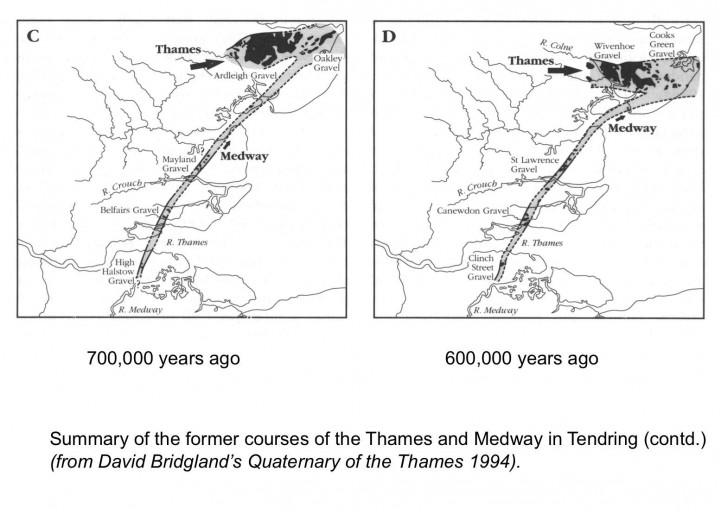 Early courses of the Thames and Medway through Essex - 2. Copyright: Gerald Lucy