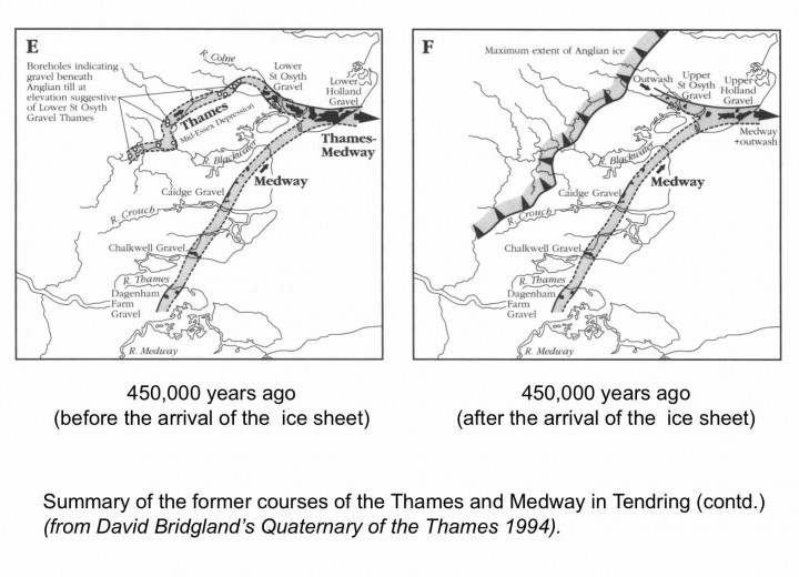 Early courses of the Thames and Medway through Essex - 3. Copyright: Gerald Lucy