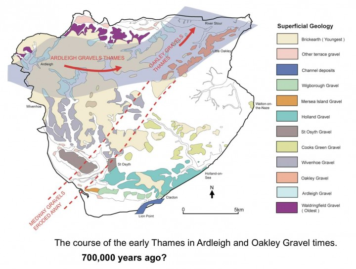 Tendring district in Ardleigh and Oakley Gravel times. Copyright: Essex County Council/Tendring District Council