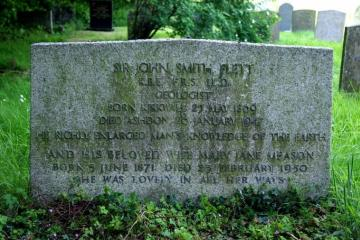 Gravestone of Sir John Smith Flett (1869-1947) Copyright: unknown