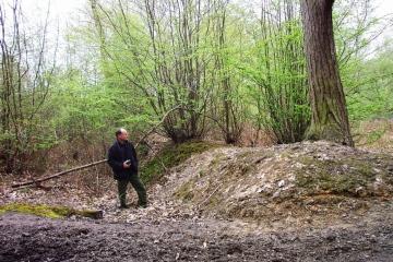 Medieval woodbank Copyright: Graham Smith