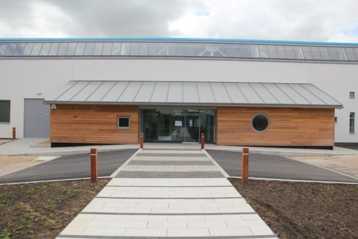 Green Centre entrance Copyright: Peter Harvey