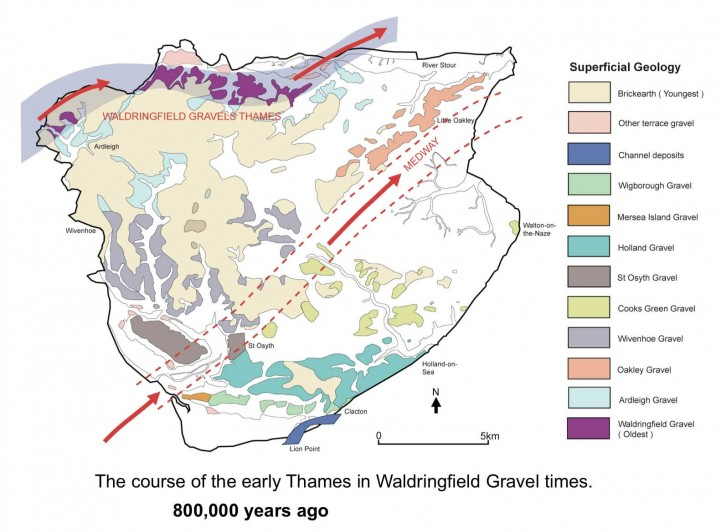 Tendring district in Waldringfield Gravel times. Copyright: Essex County Council/Tendring District Council