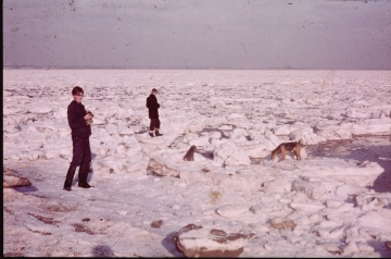 River Blackwater January 1963 1 Copyright: Graham Smith