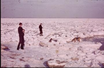 River Blackwater January 1963 1 Copyright: Graham Smith