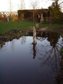 The new pond.... Copyright: J Cranfield March 2007