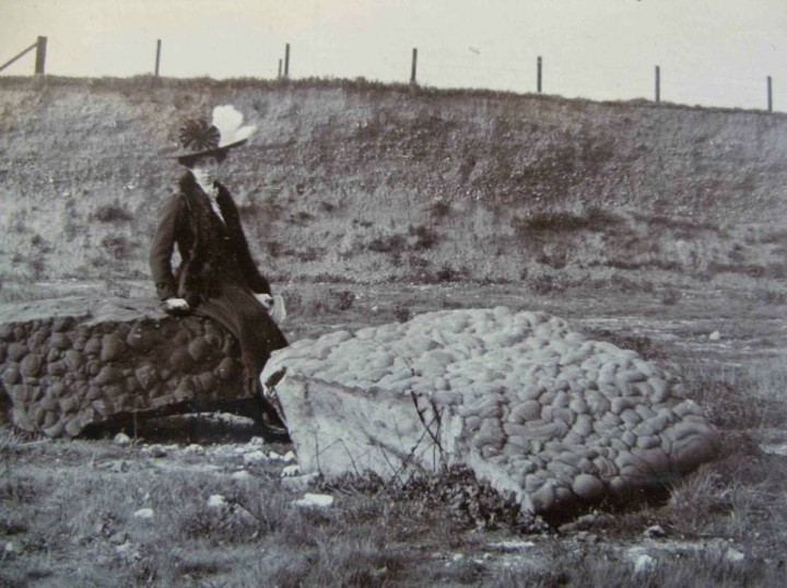 Geologists Association field trip to Grays Chalk Pit in 1910 Copyright: Geologists Association