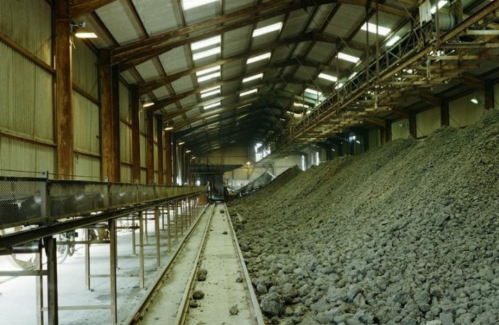 High Ongar Clay Works in 1978 - clay store Copyright: British Geological Survey (P212180)